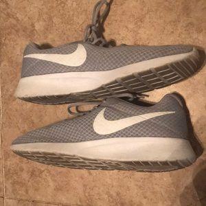 Men's Gray Nike Shoes Size 11.5